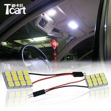 Tcart-voiture 6 X sans erreur   Véhicule lumineux, carte intérieure, dôme, lumières de porte, Kit pour toyota Land Cruiser 100, accessoires
