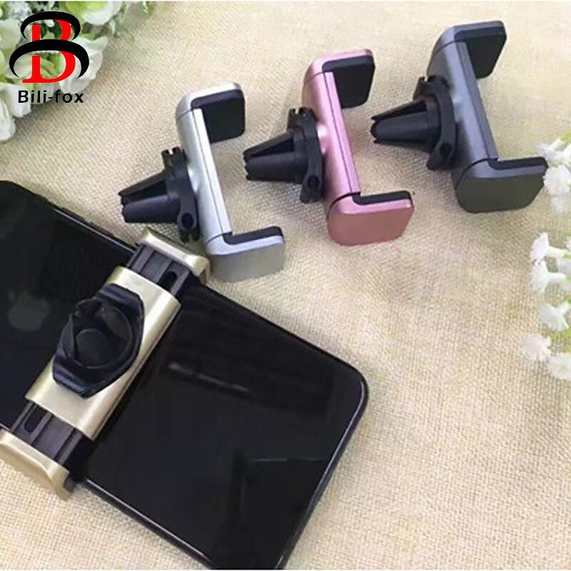 Автомобильный держатель для телефона Bili-Fox для iphone, подставка для мобильного телефона с вращением на 360 градусов, крепление на вентиляционно...