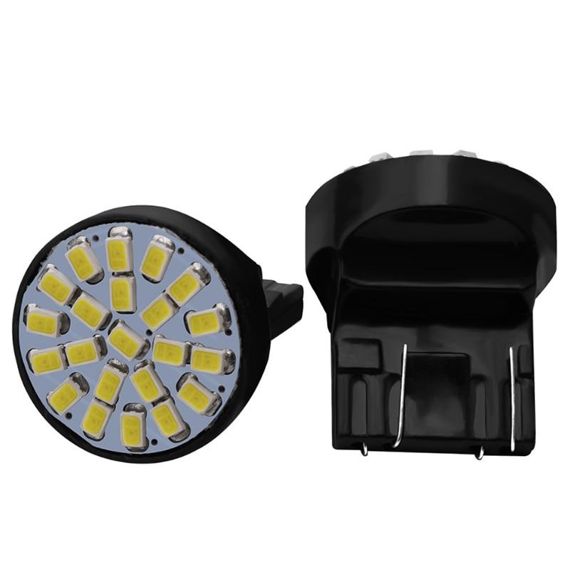 YOUEN-BAY15D 1157 BA15S 1156 T20 3014 22SMD lampe frontale pour voiture   Feu de stationnement Auto, lampe à cale arrière de sauvegarde, 12V cc