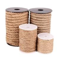premium natural sisal rope for cat tree scratching post toy cat climbing frame diy weaving cats making desk legs binding rope