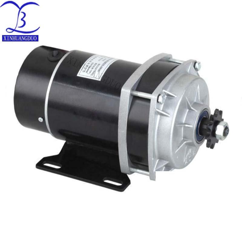 450w 24 v 36 v 48 v motor da engrenagem triciclo eletrico do motor da escova motor