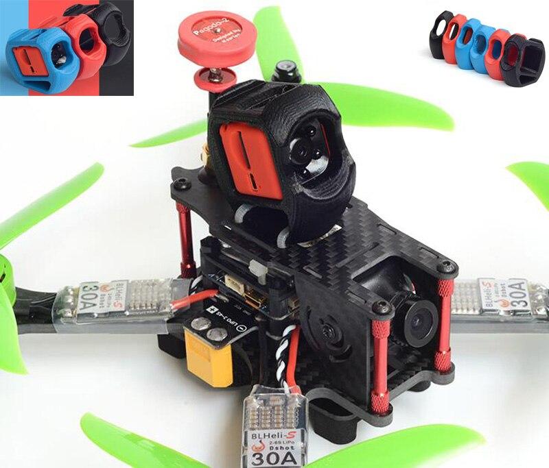 3D impreso SQ11 1080P HD Cámara protección asiento PLA ángulo de elevación 20/30 grados montaje de la lente shell titular protector cubierta