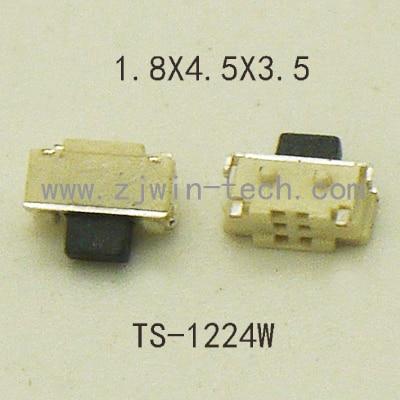 20 PCS/100 PCS SMT 2X4 MM 2PIN Tátil Tact Botão Micro Switch Auto-Reset botão lateral momentânea para o telefone/MP3/MP4