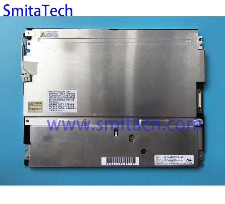 10.4 polegada 640*480 tft lcd display NL6448BC33-46 painel de tela industrial