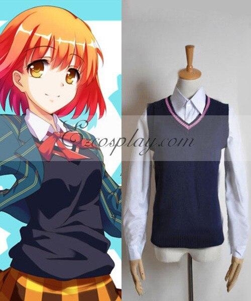 Uta no Prince-sama Saotome uniforme mujer chaleco Cosplay disfraz E001