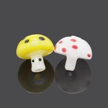 HORNET Pilz Glas Carb Kappe Farbige Blase mit Loch Dome für Terb Perle Quarz Banger Mini Glas Wasser Rohr Tupfen bohrinseln