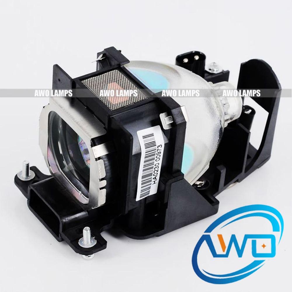 Awo et-lac80 ersatz projektorlampe mit gehäuse für panasonic pt-lc56/pt-lc56e/pt-lc56u/pt-lc76/pt-lc76e/pt-lc76u