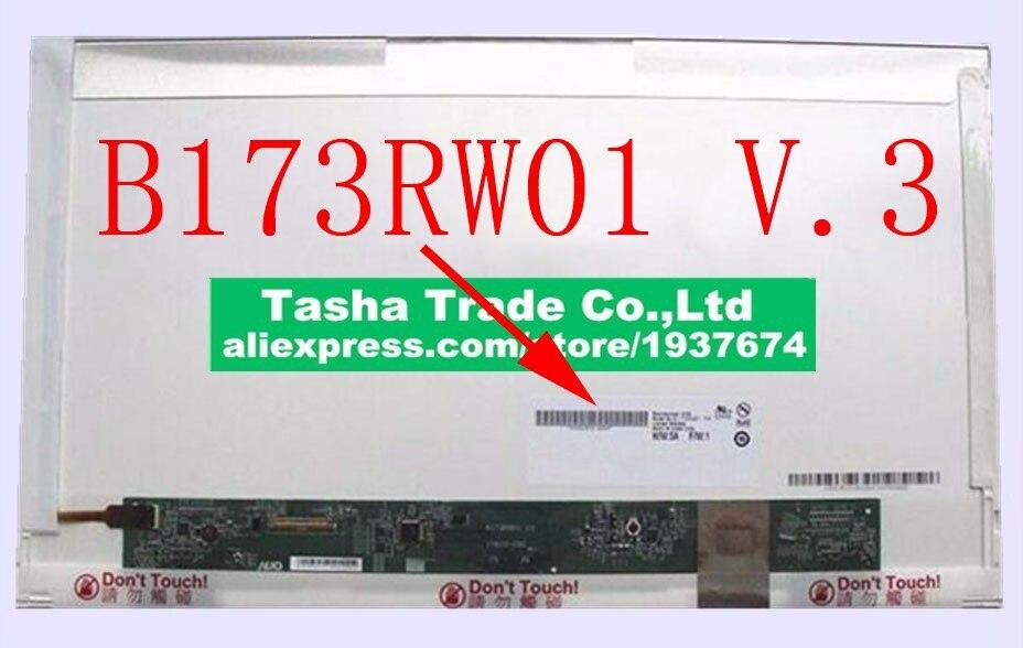 """B173RW01 V.3 V.5 Original nuevo 17,3 """"LED WXGA + + brillante HD + LCD pantalla de ordenador portátil V3 V5"""