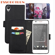 FSSOBOTLUN 9 Colors For HTC Desire 825 Case 5.5 inch PU Leather Retro Flip Cover Magnetic Fashion Wallet Cases Kickstand Strap