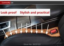 Para hueco de asiento de coche almohadilla a prueba de fugas para coche accesorios de automóvil pegatinas modelado para Volvo xc60 s60 s80 s40 v60 v40 xc90 v70 xc70 v50