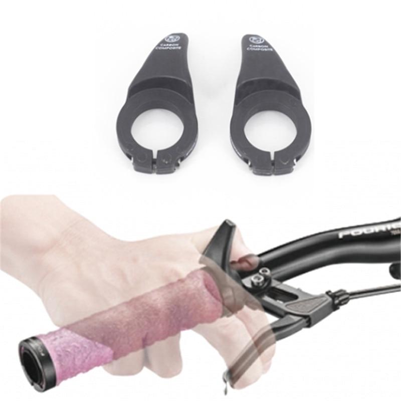 Fouriers Fahrrad Teile Carbon faser + nylon Radfahren Griffe MTB Mountainbike Bar Ends Fahrrad Barend Barends Lenker Griffe Zyklus