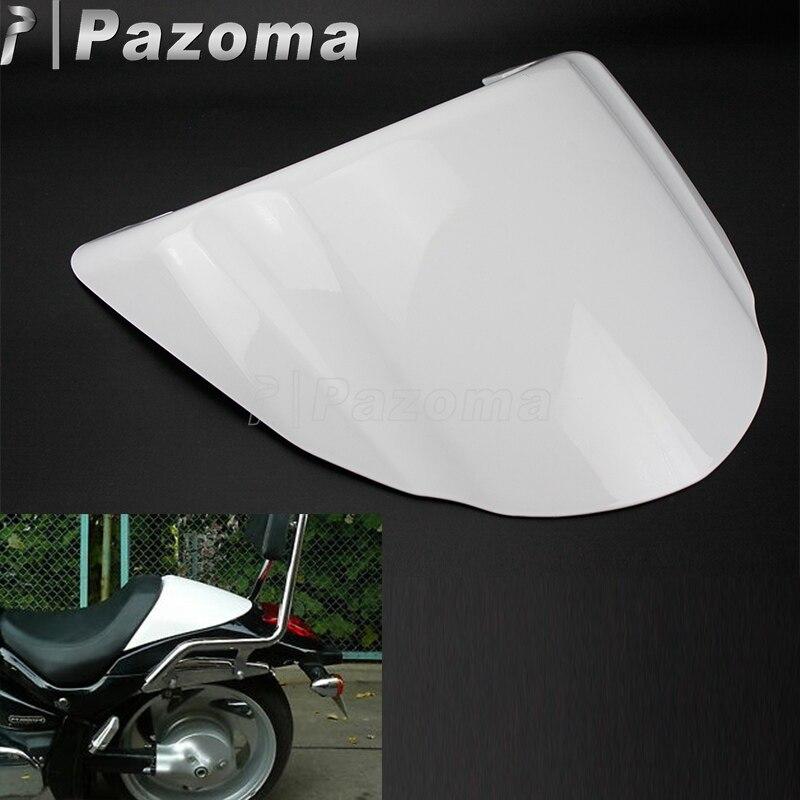 Pazoma blanco motocicleta cubierta trasera de plástico cubierta trasera carenado trasero para Suzuki bulevar M109R bulevar M109 2006-2013