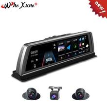 WHEXUNE-console centrale DVR   Voiture Dashcam, 4G 4 canaux, ADAS Android 10