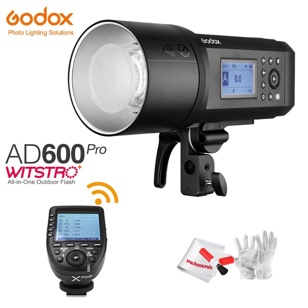 Godox-فلاش خارجي AD600Pro AD600 Pro 600Ws TTL HSS ، بطارية ليثيوم أيون 1/8000S ، نظام X لاسلكي Godox 2.4G/جهاز إرسال Xpro