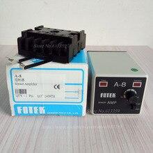 A-8 FOTEK Sensor Verstärker Controller VERSTÄRKER GETRENNT TYP FOTOSENSOR 100% New & Original