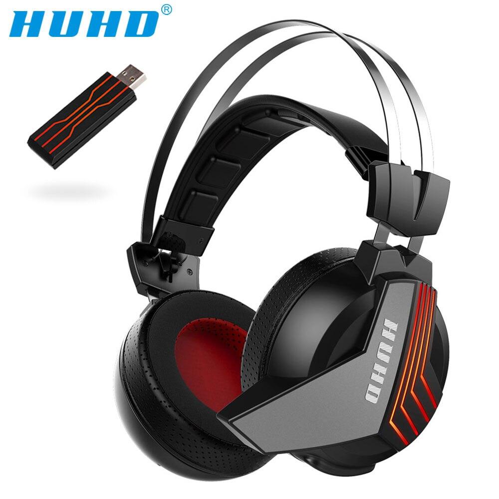 Auriculares PS4 profesionales USB inalámbricos 7,1 sonido envolvente auriculares para juegos aislamiento de ruido Monitor auriculares para PS4 PC Gamer