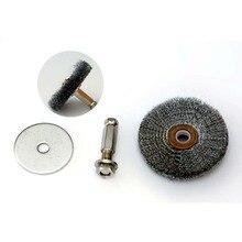Machine de ponçage de brosse à fil en acier   Brosse à fil en acier pneumatique, outil de meulage pour la réparation des pneus
