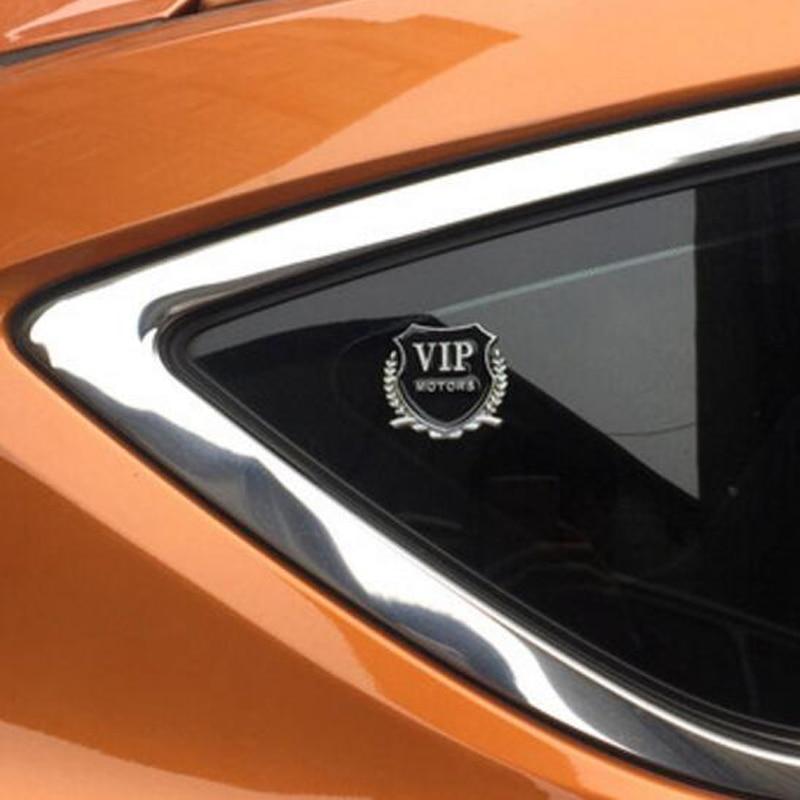 2pcs VIP Sticker car styling for Hyundai ix35 iX45 iX25 i20 i30 Sonata,Verna,Solaris,Elantra,Accent,Veracruz,Mistra,Tucson,Santa