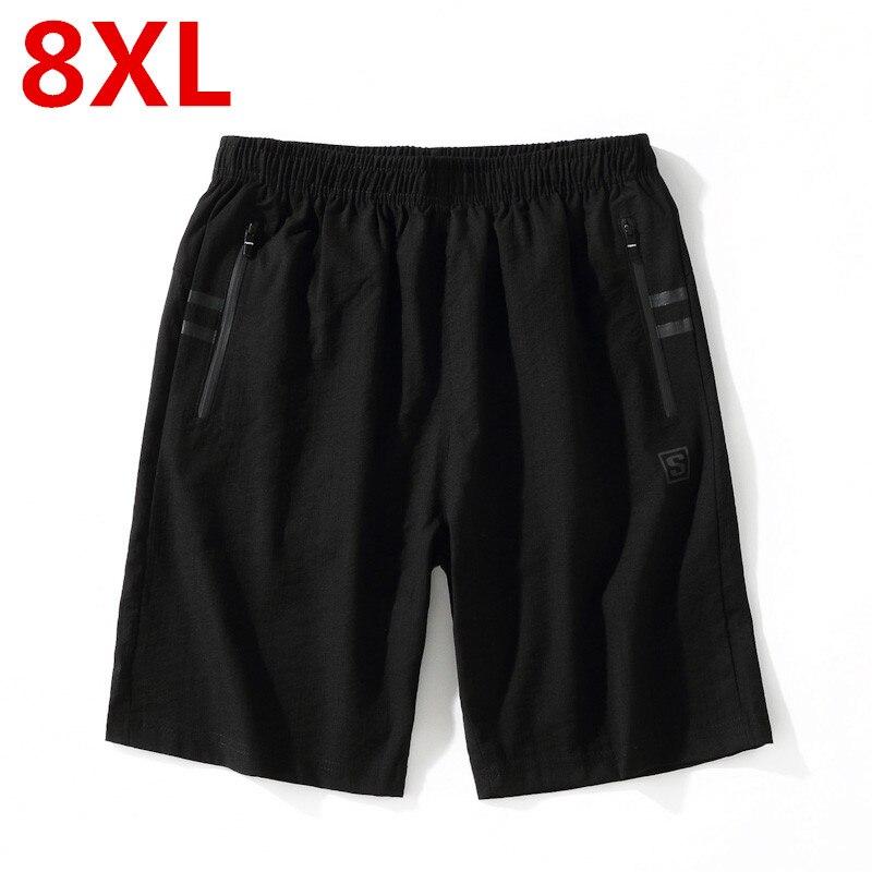 Big size 8XL 6XL 5XL 4XL New Hot Beach Shorts Men Summer Quick Dry Comfortable Beachwear Homme Casual Board Short Plus Size