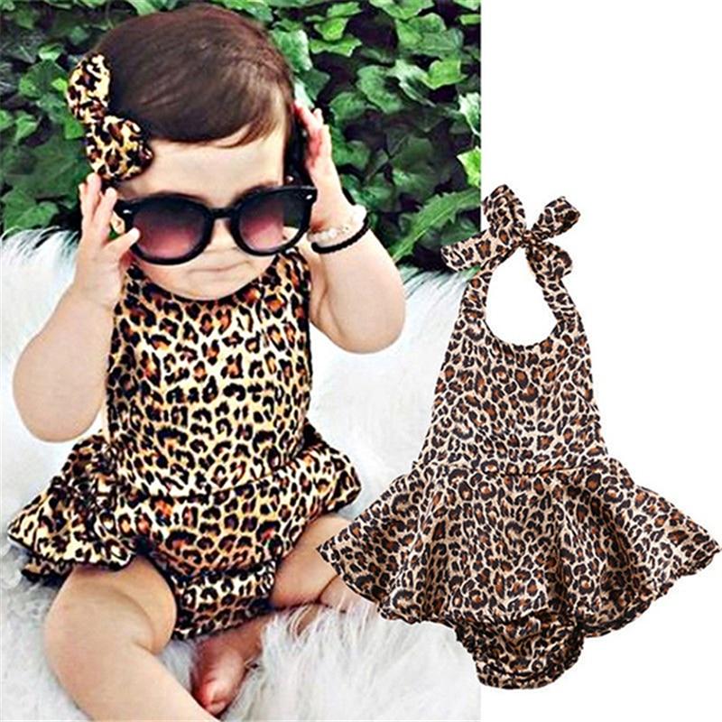 Leopardo bodysuit roupas de bebê legal do bebê meninas bodysuits originais conjunto corpo bebe macacão verão estilo