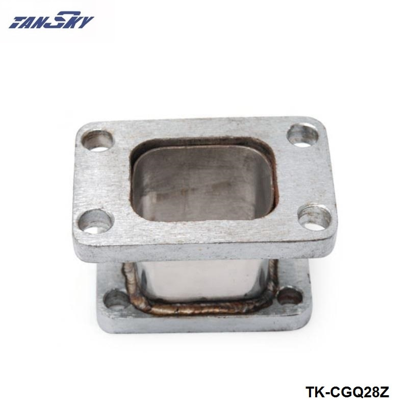 T3-T25 TURBO/cargador/colector de escape fundido adaptador de pestaña TK-CGQ28Z de conversión de turbina
