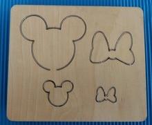 Mickey Bow Wooden Die  cutting Steel Rule Die Fits MY  New