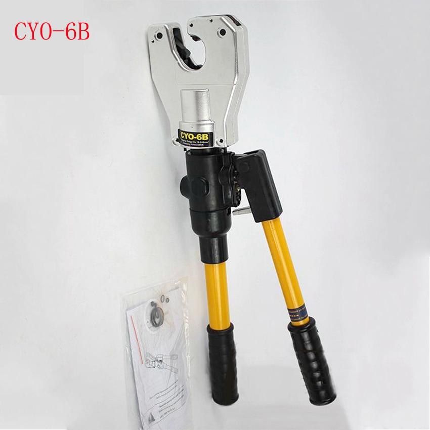 CYO 6B безопасный гидравлический ручной бесdieless обжимной инструмент 10 240мм2 для