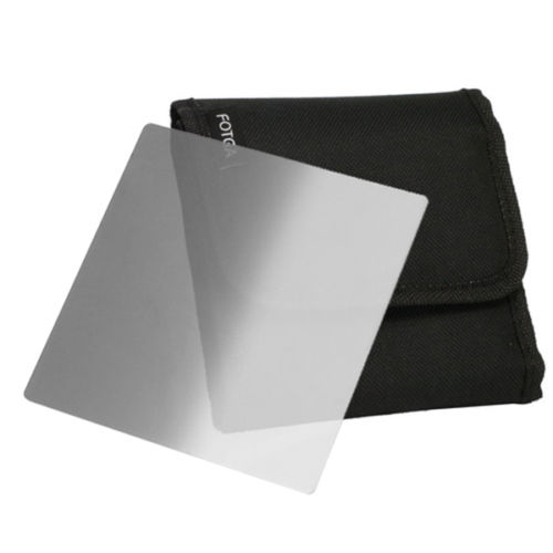 "FOTGA 4""x4"" 4"" 100mm Square Graduated ND2 ND4 ND8 Filter for DP3000 DP500 DSLR Matte Box"