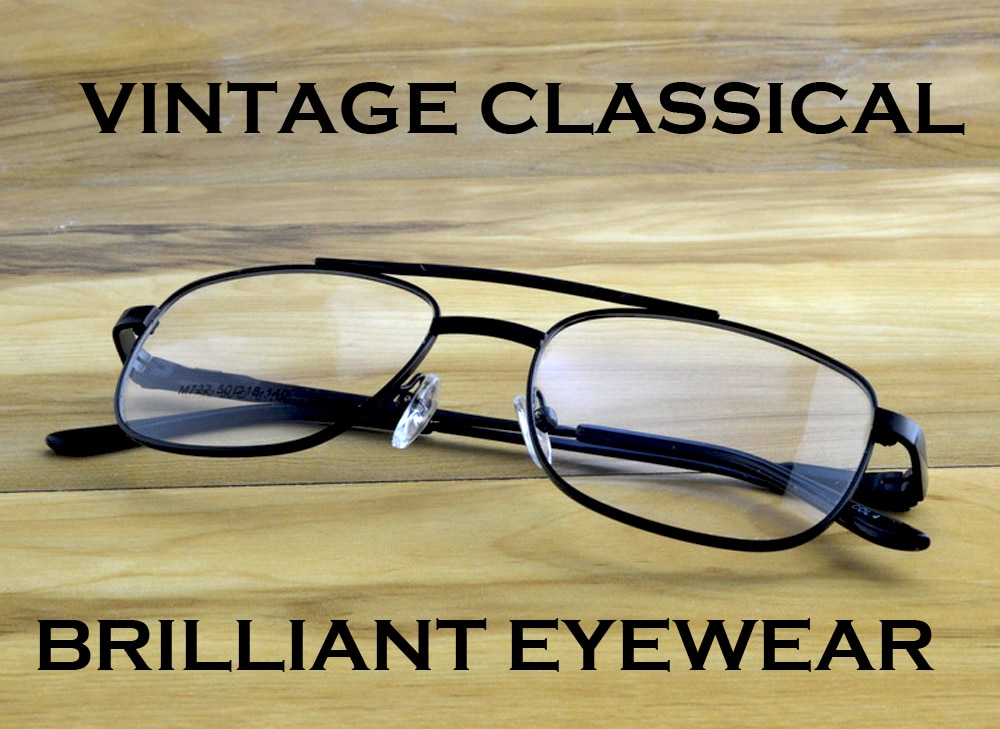 = Scober Progressive Multifocal Reading Glasses Designer Pilot Double Bridge Spring Hinge See Near And Far Top 0 Add +1 To +4