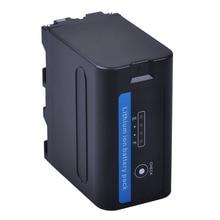 1PC 7200mAh NP-F960 NP-F970 Battery with LED Power Indicators for SONY F960 F550 F570 F750 F770 MC1500C 190P 198P F950 HD1000C