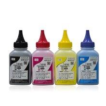 4 farben/set Toner Pulver Kompatibel Für HP Farbe Laserjet Pro CP1025 CP1025NW Hohe Qualität Toner Pulver Für Laser drucker