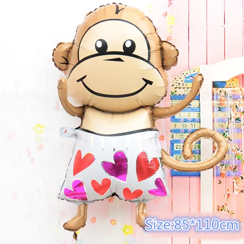 Globos grandes de helio de 39 pulgadas con diseño de corazón de amor, decoraciones para fiesta de cumpleaños para niños proveedores de fiesta de bodas globos de aire 1 Uds