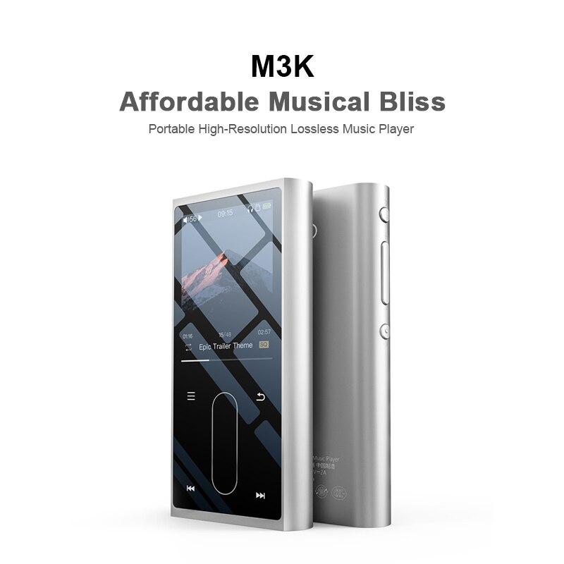 Fiio M3K Metal Case Sport Audio Mini Lcd-scherm Hifi Mp3 Speler Muziek Audio Mp 3 Met Voice Recoder Voor student, kids