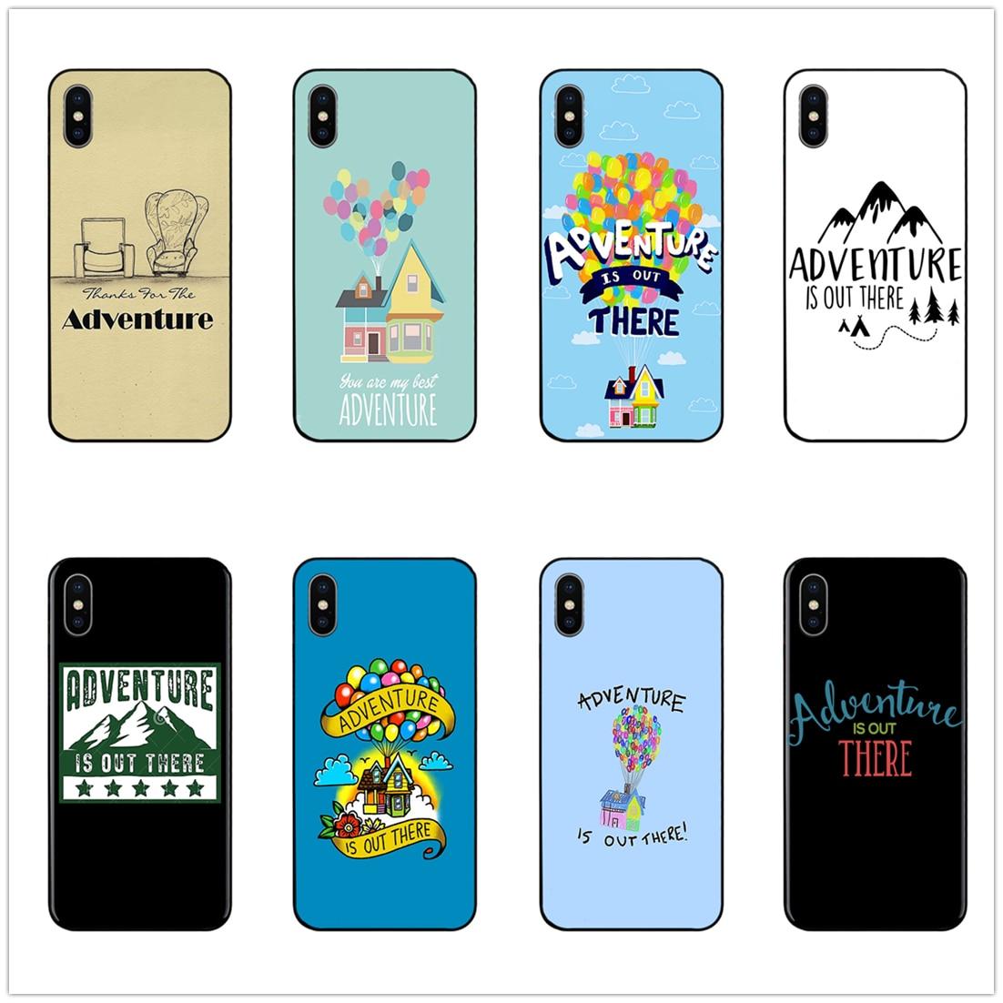 Aventura está ahí fuera teléfono caso cubierta suave para iPhone 11 Pro Max 6 7 8plus 5S X XS X XR XSMax para Samsung s10 s9 s8 Serie