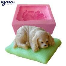 Moule à savon en Silicone 3D   Pour chien, moule à savon en Silicone pour savon, moule à chocolat