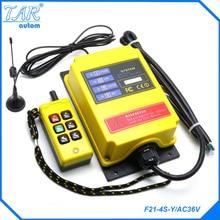 Télécommande sans fil industrielle à ascenseur 500 m   distance longue, télécommande sans fil pouvant être personnalisée AC380V