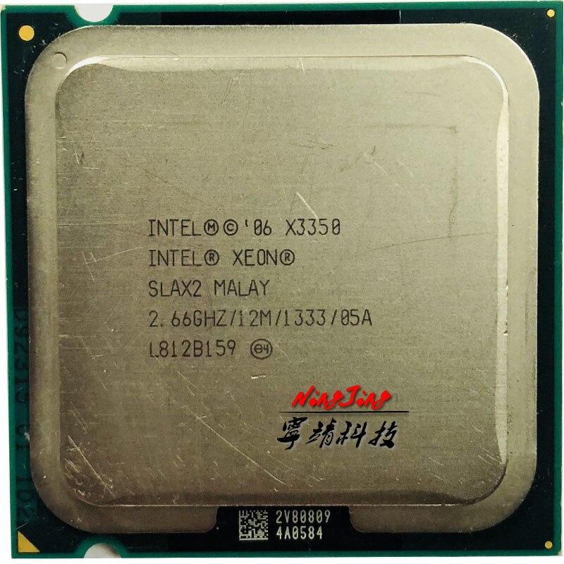 Intel Xeon X3350 2,6 GHz Quad-Core CPU procesador de 12M 95W LGA 775