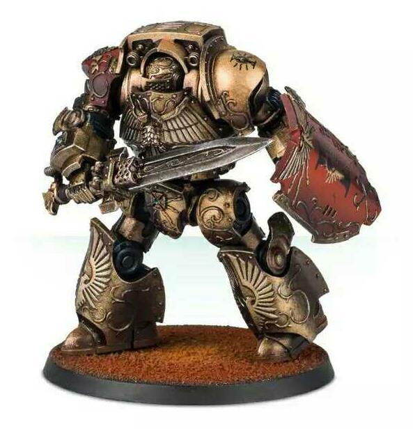 Custodes gru-Galatus Dreadnought, sin montar