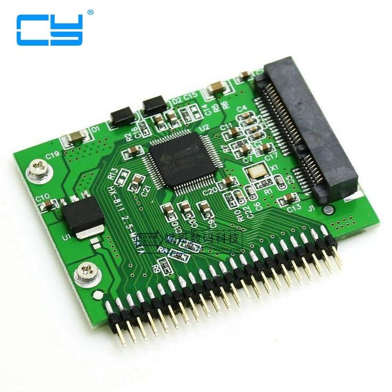 Mini PCI-E SSD Msata 1,8 para IDE 2,5 Polegada 5 V 44pin...