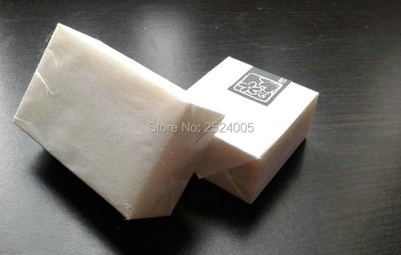 O envio gratuito de branco 31g DIY handmade soap embalagem de papel/papel DIY papel de embrulho papel calandrado/food packaging semitransparente papel