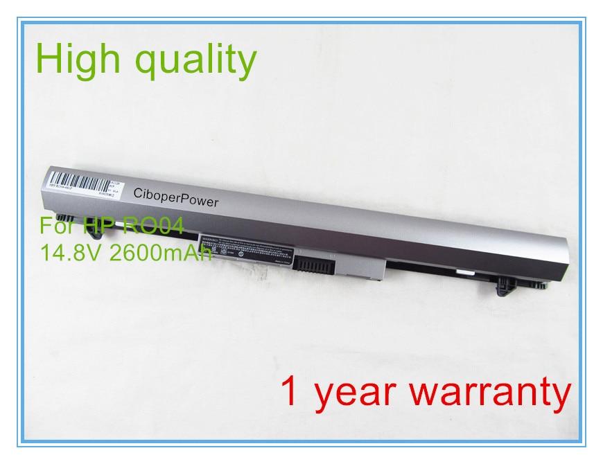 14,8 V RO04 RO04xl batería para 430 de 440 G3 serie RO06XL HSTNN-PB6P HSTNN-LB7A P3G13AA 805045-851 HSTNN-Q98C HSTNN-DB7A
