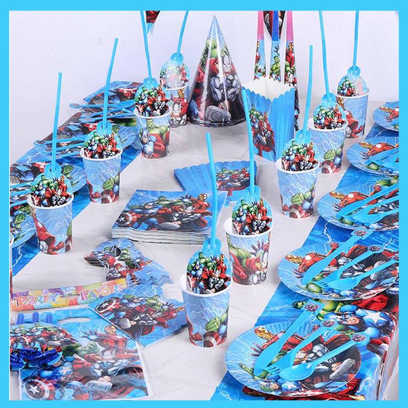 supereroe-avengers-decorazioni-festa-di-compleanno-baby-shower-bambini-stoviglie-usa-e-getta-tazze-tovaglia-piatto-rifornimenti-del-partito-evento