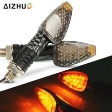 Universal Motorcycle Turn Signal Light 12V LED Indicators Blinker Lamp For YAMAHA M109R R1 R6 R15 DT 125 MT125 YBR 125 FZ6N MT09
