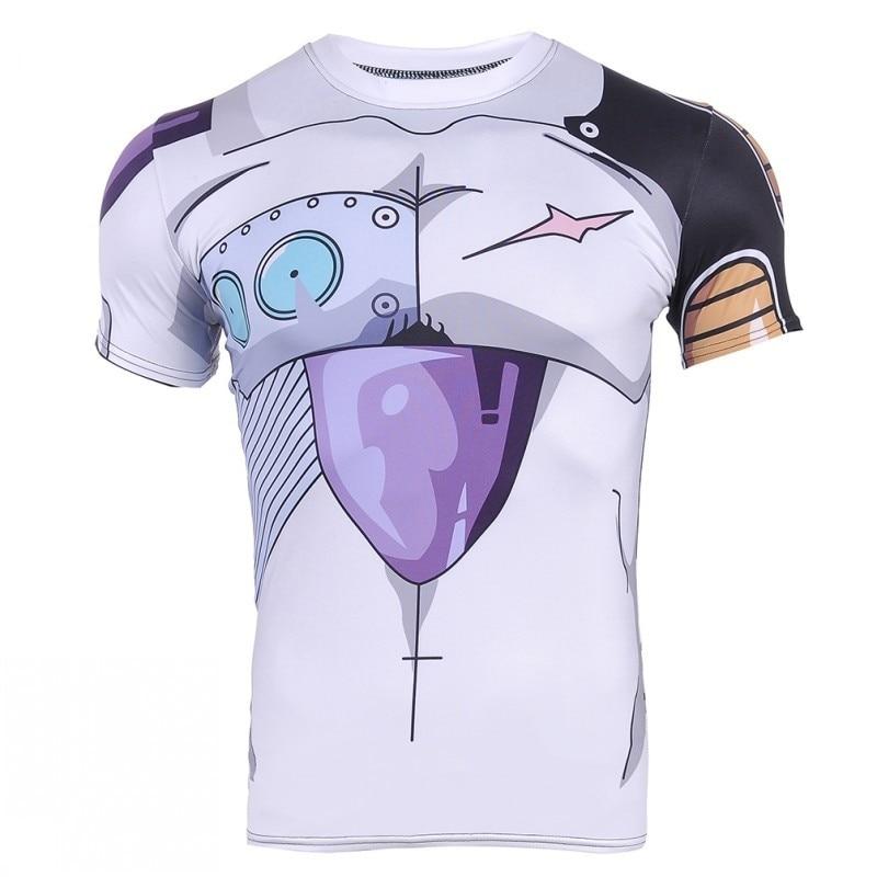Nowe mody cosplay Kid Goku 3D koszulka DBZ koszulka z krótkim rękawem mężczyzna kobieta anime dragon ball ZT koszule Cartoon koszulki