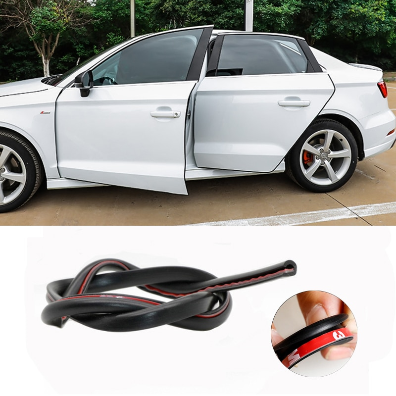 Lado del coche molduras de puertas adhesivo arañazos Protector para Mitsubishi motores asx lancer 10 outlander xl pajero sport 4 l200 carisma