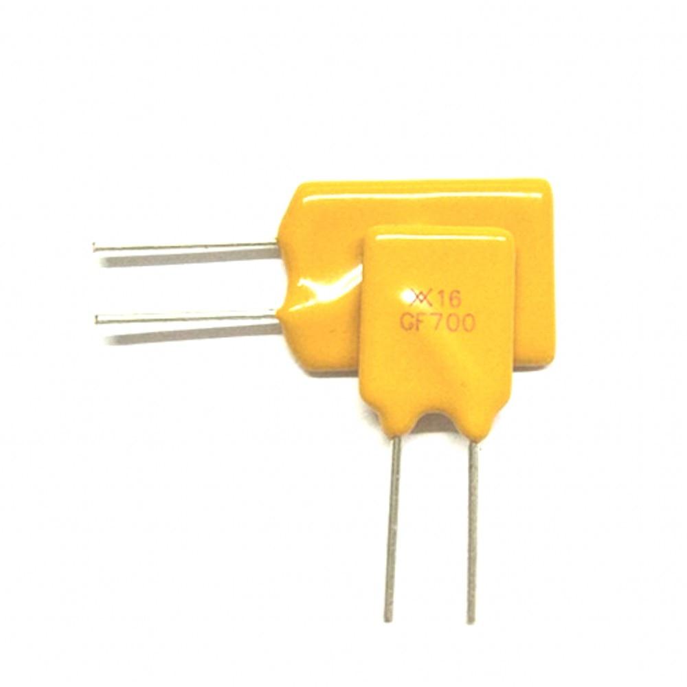 500 piezas 16 V 7A 7000MA fusibles rearmables PPTC RGEF700 GF700 paso 5mm