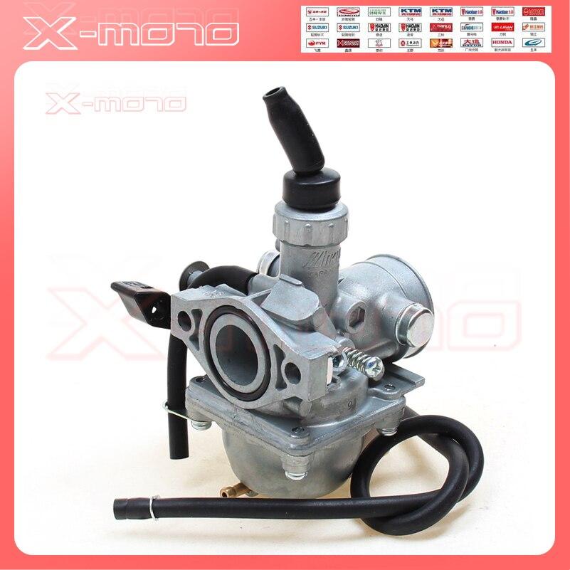 Mikuni VM16 19mm PZ19 carburador de mano carburador para CR XR50 CRF50 CRF70 50cc 70cc 90cc 110cc ATV bicicleta de tierra