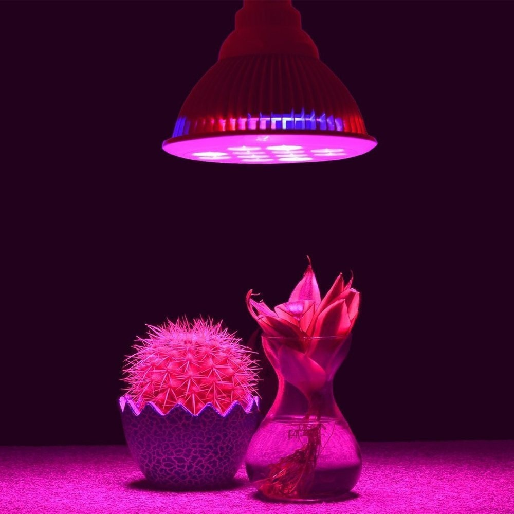 Espectro completo e27 15w 21w 27w 36 45w 54w led planta crescer luz hidroponia para plantas orquídeas mudas interior mini-cacto-planta