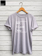 Koszulka NY kocham cię-koszula new york, koszulka ny, koszulka brooklyn, koszulka new york, kocham nowy jork, brooklyn shirt-C577