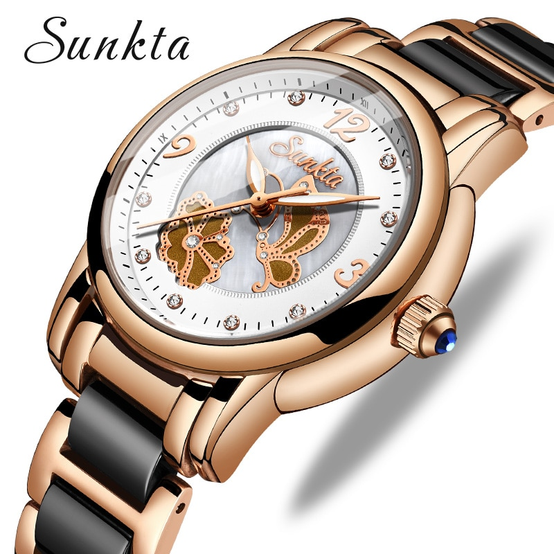 SUNKTA Brand Luxury Women Watches Waterproof Fashion Ladys Watch for Woman Ladies Wrist Watch Relogio Feminino Montre Femme enlarge